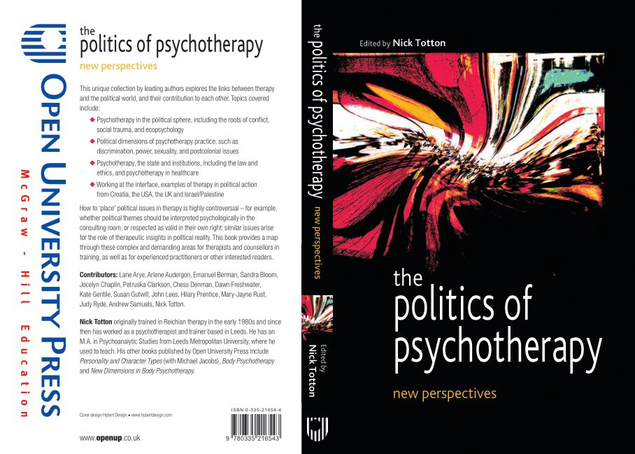 Totton (Ed.) - The Politics of Psychotherapy; New Perspectives (2005)