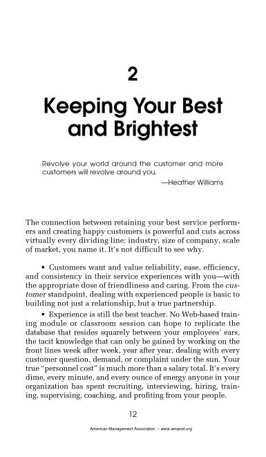 2 Keeping Your Best and Brightest   Page 6