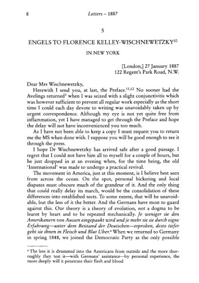 5. Engels to Florence Kelley- Wischnewetsky 27 January  | Page 7