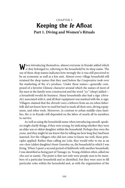Chapter 5 Keeping the Ie Afloat: Part 1. Diving and Women's Rituals | Page 6