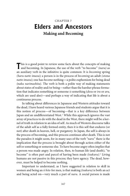 Chapter 7 Elders and Ancestors: Making and Becoming | Page 8