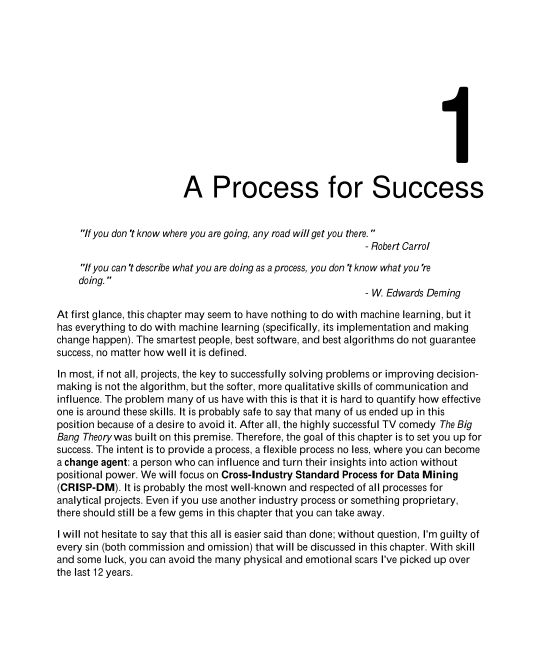Chapter 1: A Process for Success   Page 8