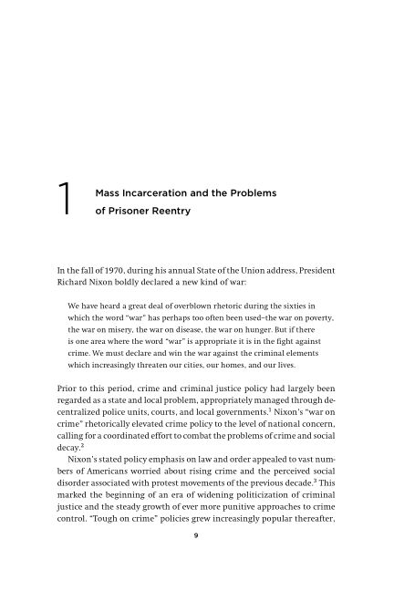 1 Mass Incarceration and the Problems of Prisoner Reentry | Page 4