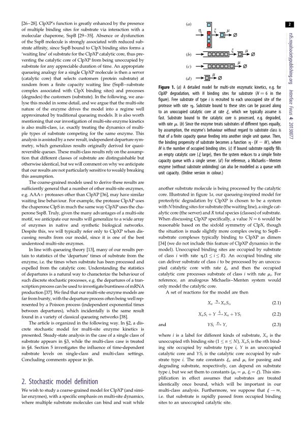 Stochastic model definition | Page 0