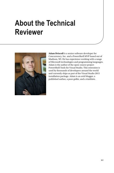 About the Technical Reviewer | Page 3