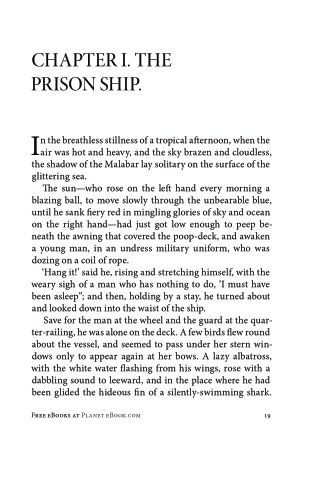 CHAPTER I. THE PRISON SHIP. | Page 3