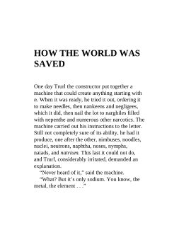 How the World Was Saved | Page 3