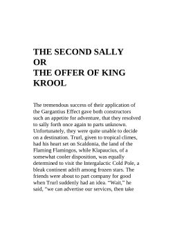 The Second Sally or the Offer of King Krool | Page 9
