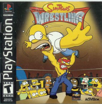 Simpsons The - Wrestling [English]