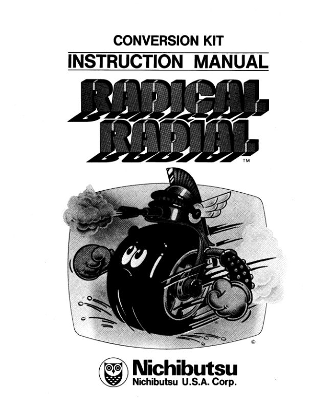 Radical Radial - Arcade - Manual - gamesdatabase.org