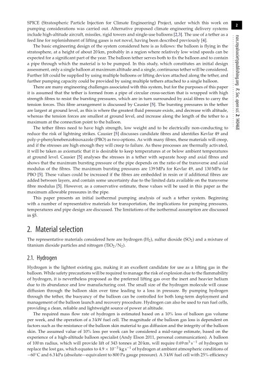 Material selection   Page 0