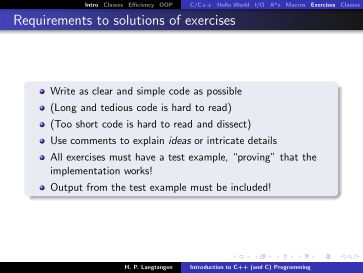 Exercises | Page 6