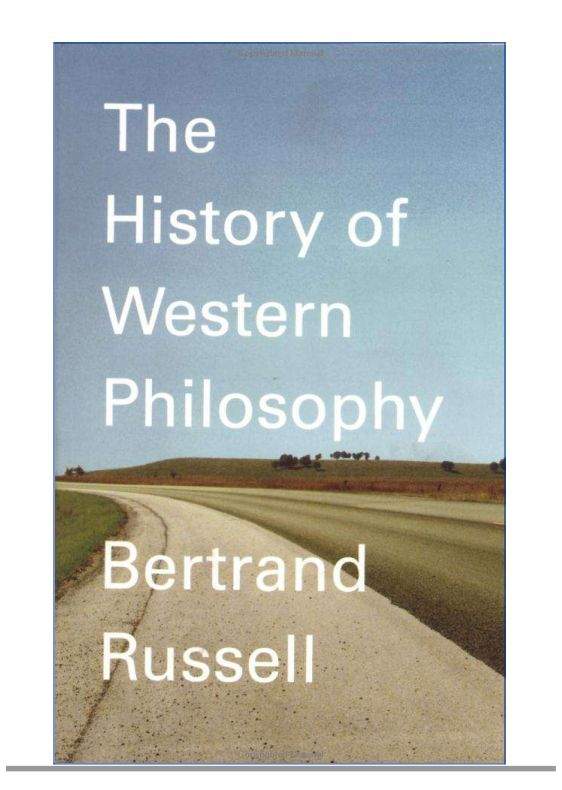 Bertrand Russell - A History of Western Philosophy [poor font] (1945)