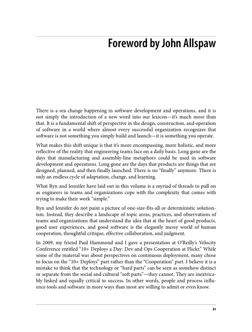 Foreword by John Allspaw | Page 2