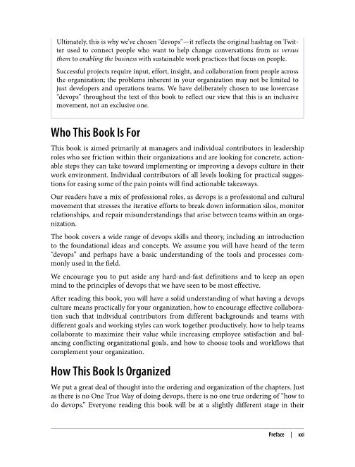 Who This Book Is For | Page 6