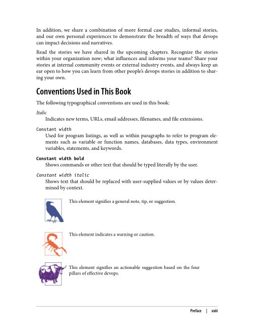 Conventions Used in This Book | Page 9