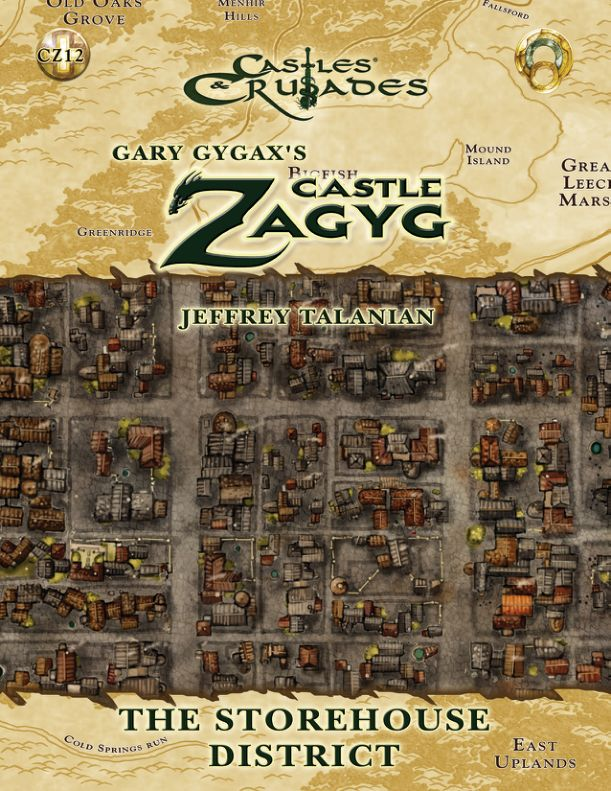 Castle Zagyg - Yggsburgh - Storehouse District