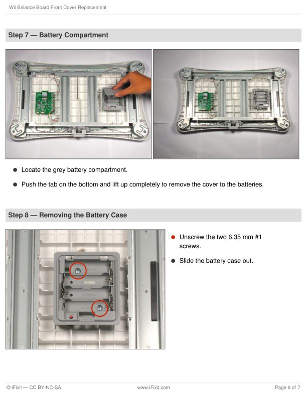 Step 7 — Battery Compartment   Page 9