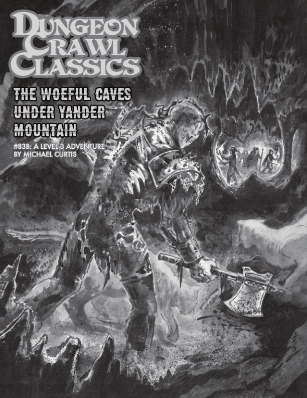 DCC83 - The Chained Coffin (Box Set) - The Woeful Caverns Under Yander Mountain