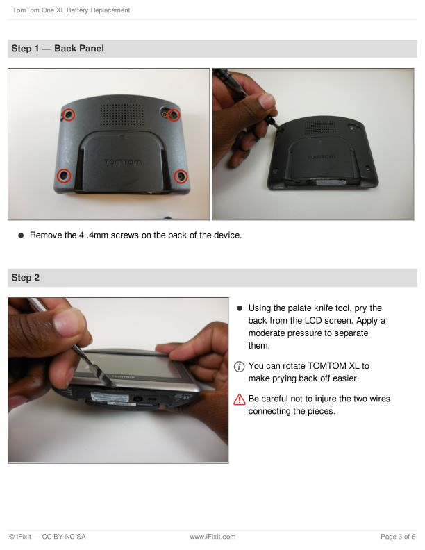 Step 1 — Back Panel | Page 2