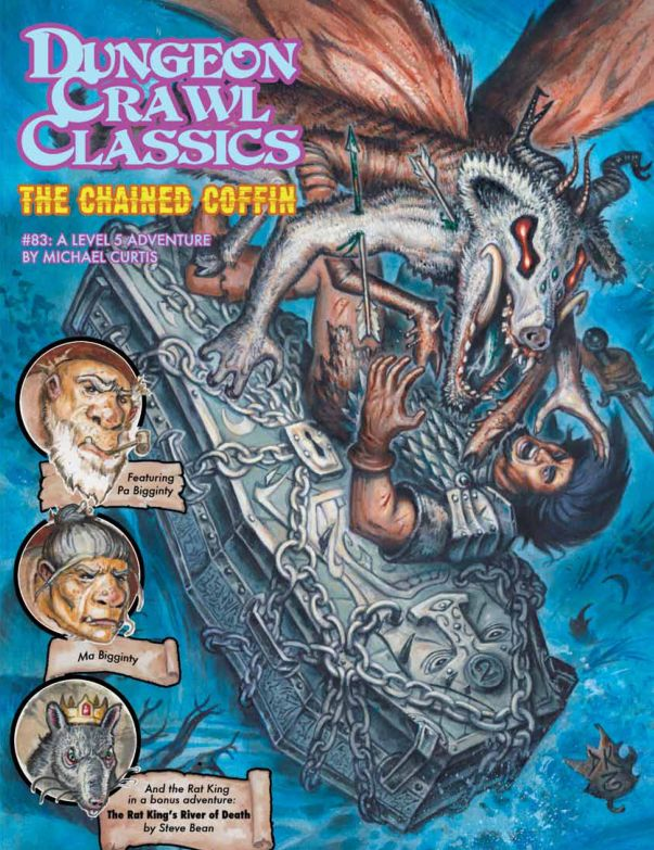 DCC83 - The Chained Coffin (Box Set) - The Chained Coffin (Level 5)