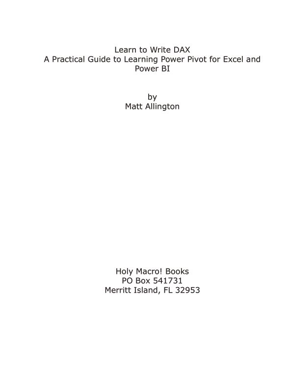 Title Page | Page 1