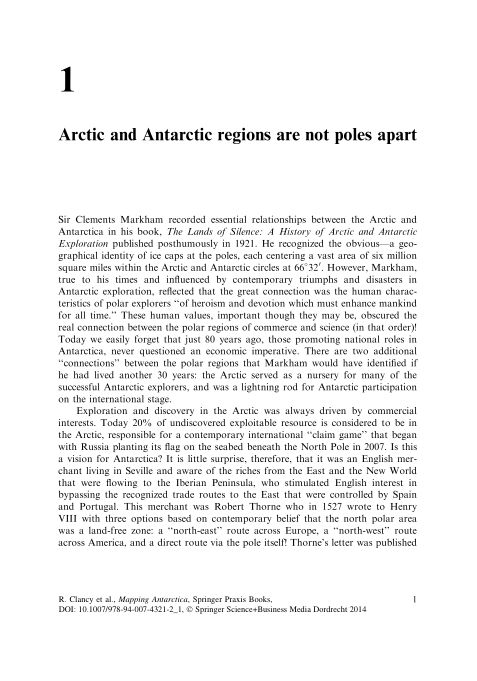1 Arctic and Antarctic regions are not poles apart   Page 4
