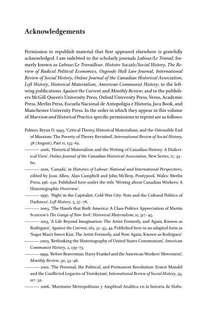 Acknowledgements   Page 1