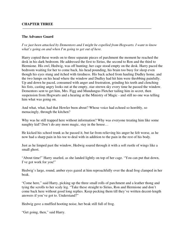 CHAPTER 3 - The Advance Guard | Page 1