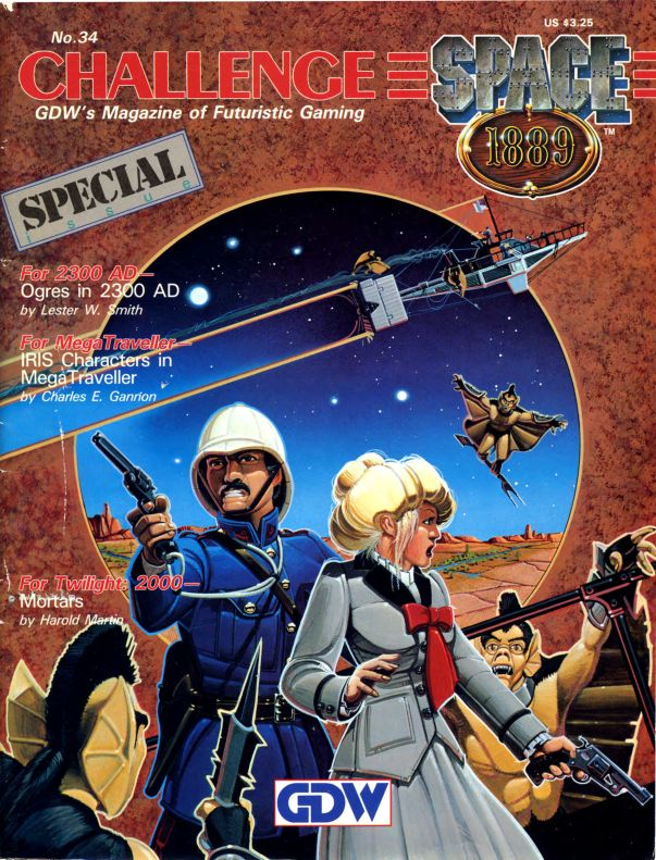 Space 1889 - Challenge Magazine Articles
