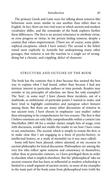 Structure and outline of the book | Page 8