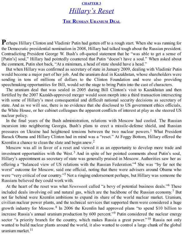 CHAPTER 3 Hillary's Reset: The Russian Uranium Deal | Page 3