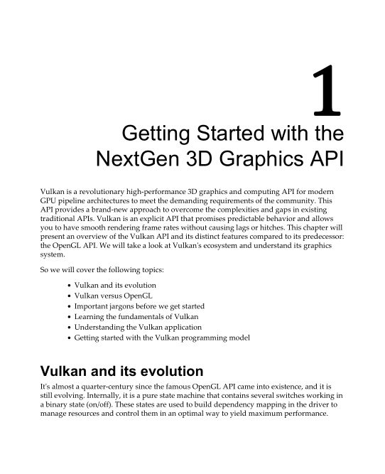Chapter 1: Getting Started with the NextGen 3D Graphics API | Page 9