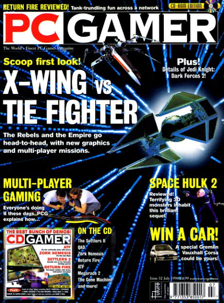 PC Gamer UK Issue 32 (July 1996)