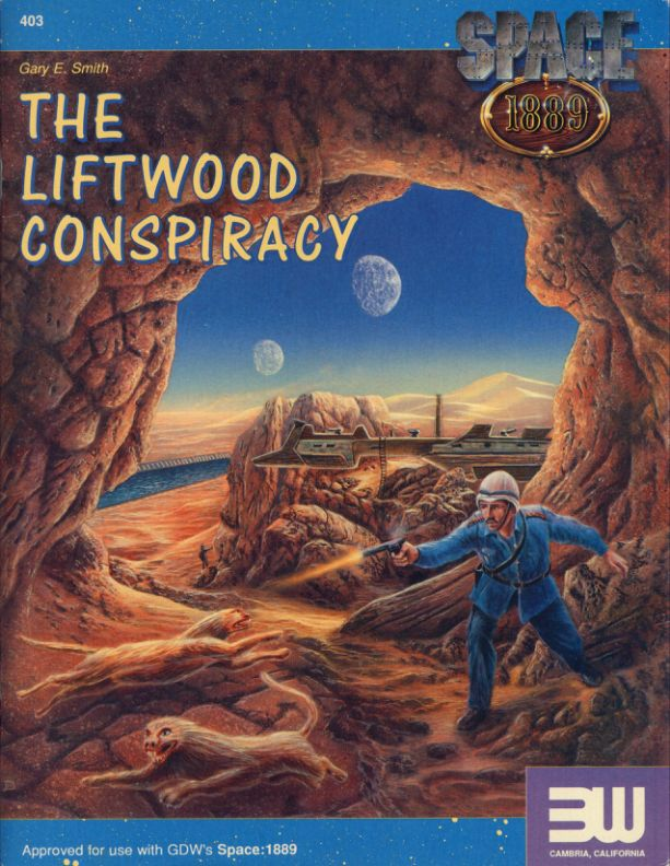 Space 1889 - 3W403 The Liftwood Conspiracy