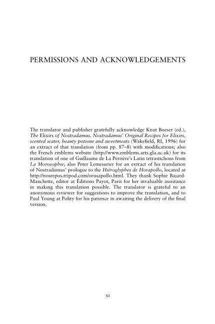 Permissions and Acknowledgements   Page 5