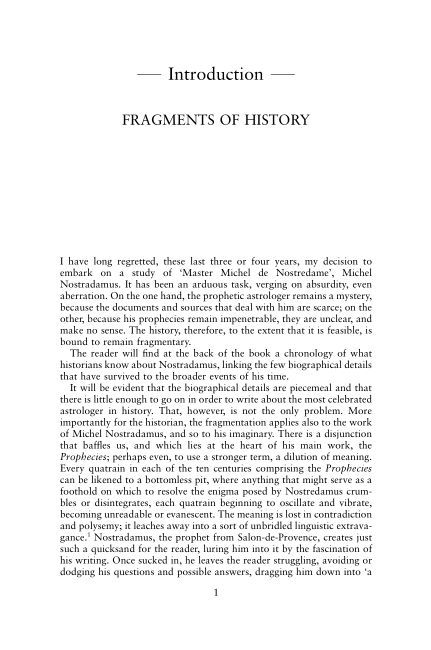 Introduction: Fragments of History   Page 7