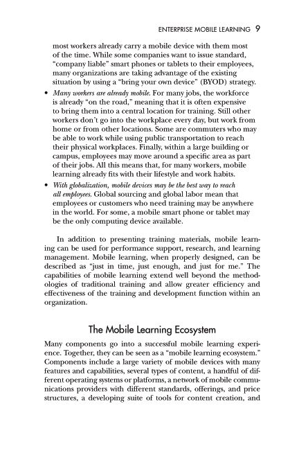 The Mobile Learning Ecosystem | Page 9