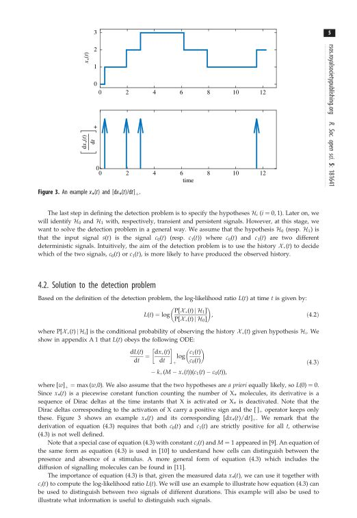 Solution to the detection problem | Page 6